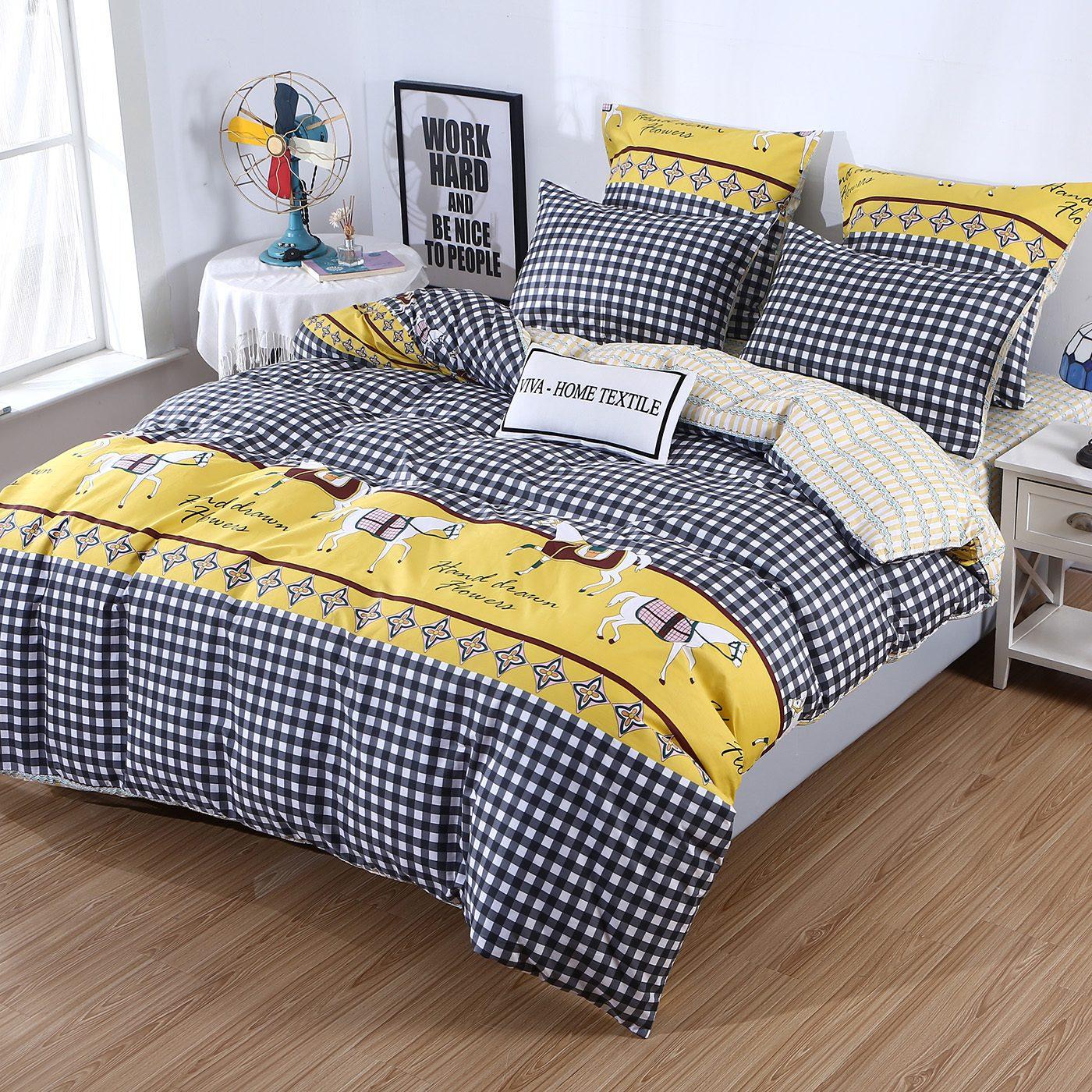 Комплект постельного белья Сатин 100% хлопок C468