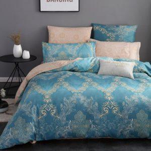 Комплект постельного белья Сатин Вышивка CN033
