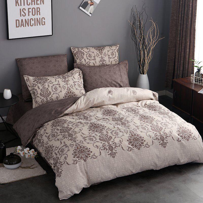 Комплект постельного белья Сатин Вышивка CN034