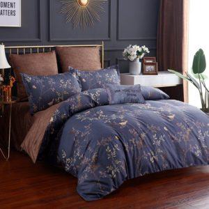 Комплект постельного белья Сатин Вышивка CN035