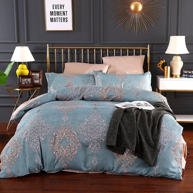 Комплект постельного белья Сатин Вышивка CN037