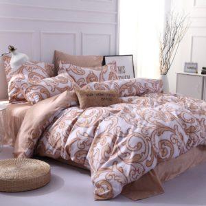 Комплект постельного белья Сатин Вышивка CN039