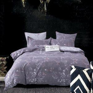 Комплект постельного белья Сатин Вышивка на резинке CNR048