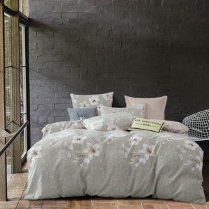 Комплект постельного белья Сатин Вышивка на резинке CNR050