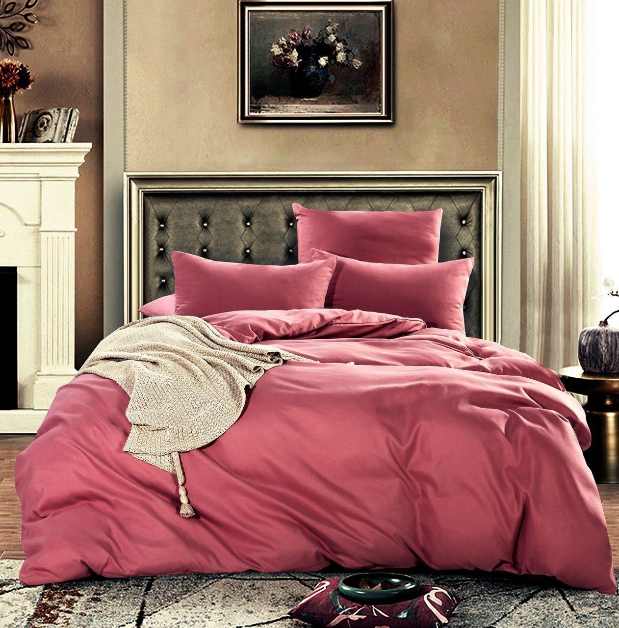 Комплект постельного белья Однотонный Сатин CS001