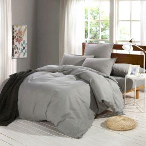 Комплект постельного белья Однотонный Сатин CS004