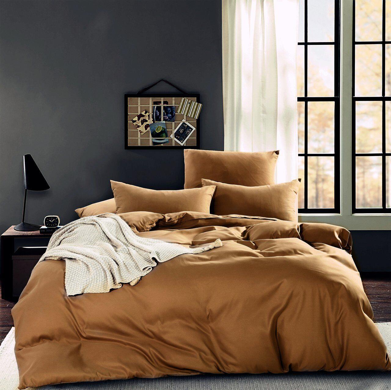 Комплект постельного белья Однотонный Сатин CS005