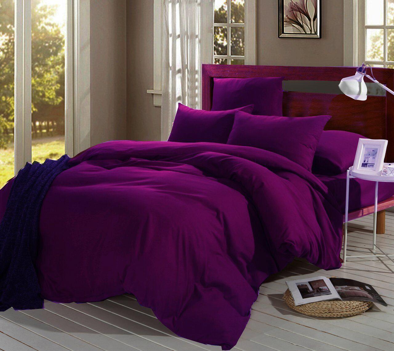 Комплект постельного белья Однотонный Сатин CS006
