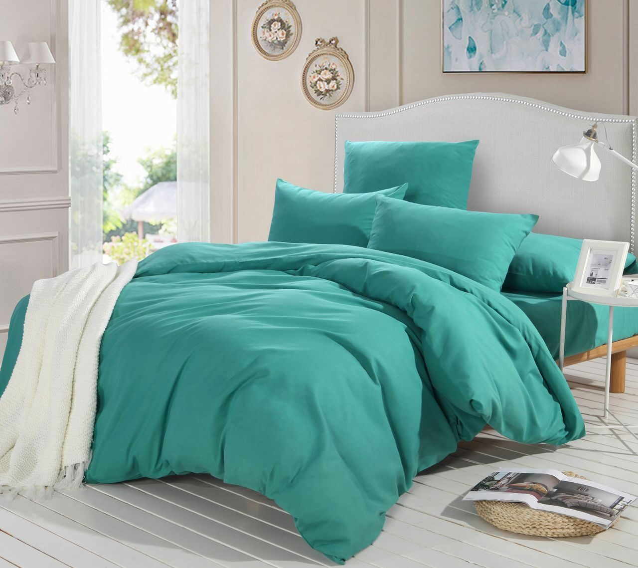 Комплект постельного белья Однотонный Сатин CS009