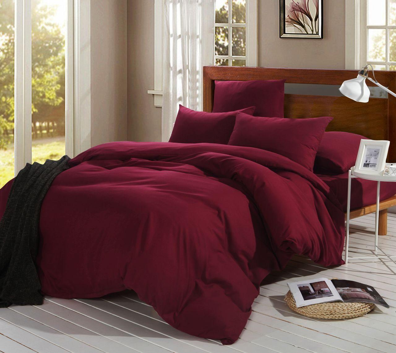 Комплект постельного белья Однотонный Сатин CS010