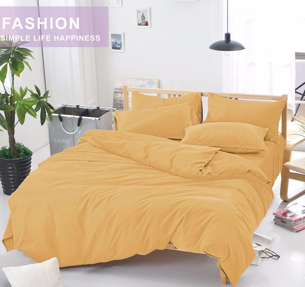 Комплект постельного белья Однотонный Сатин CS014
