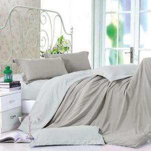 Комплект постельного белья Однотонный Сатин CS015