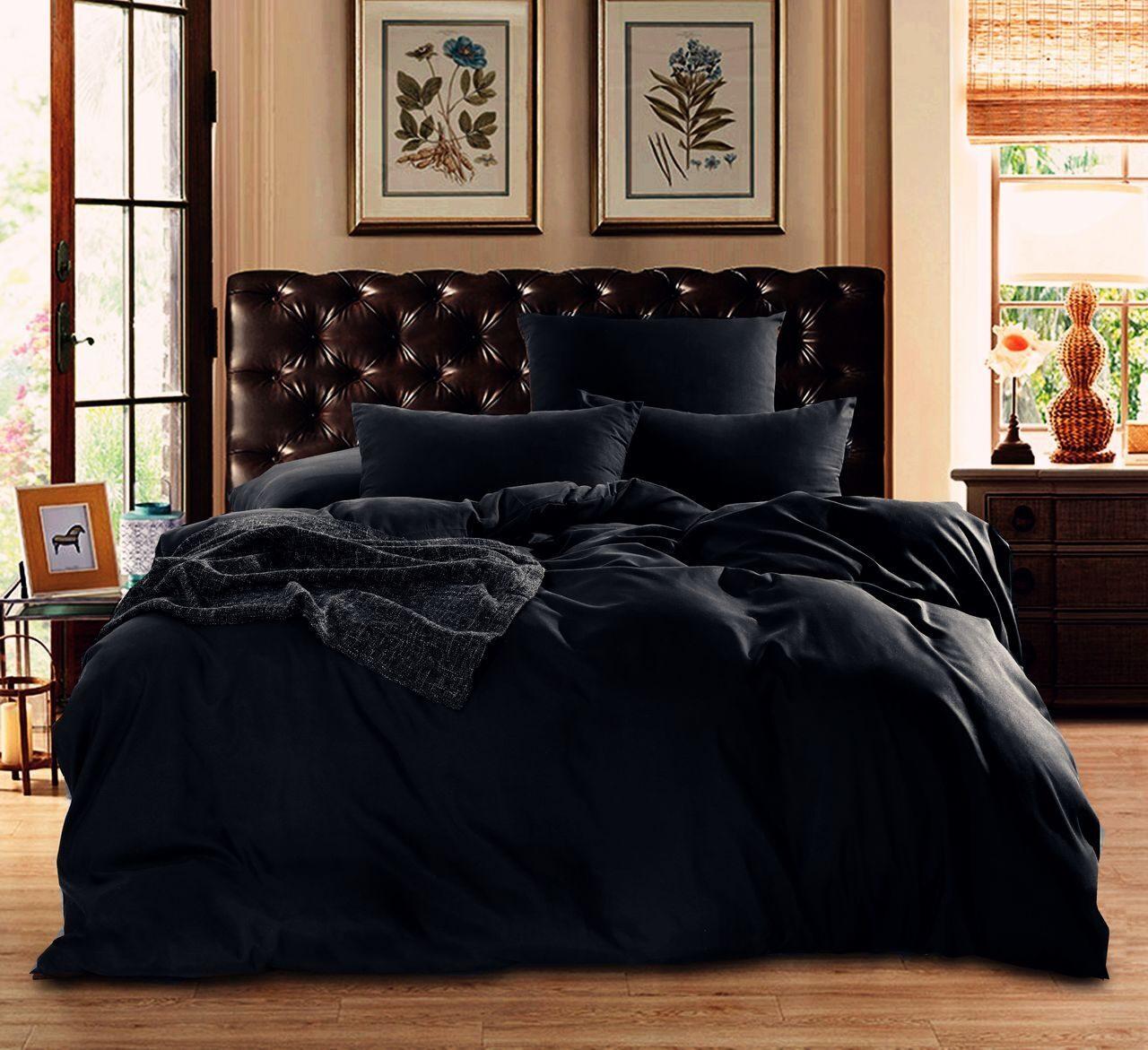 Комплект постельного белья Однотонный Сатин CS017