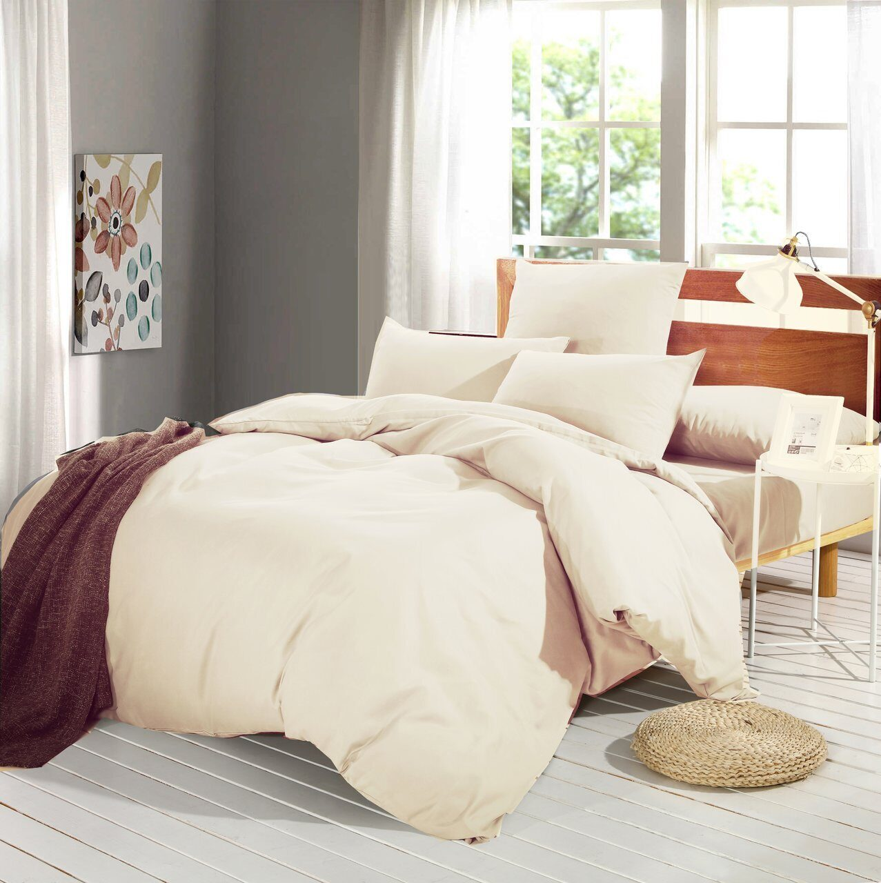 Комплект постельного белья Однотонный Сатин CS018