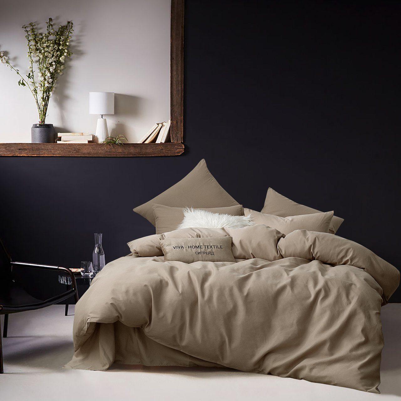 Комплект постельного белья Однотонный Сатин CS028