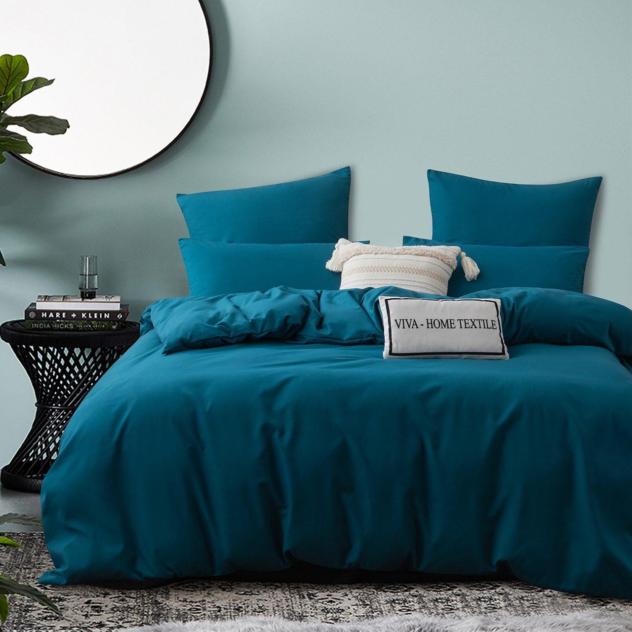 Комплект постельного белья Однотонный Сатин CS039
