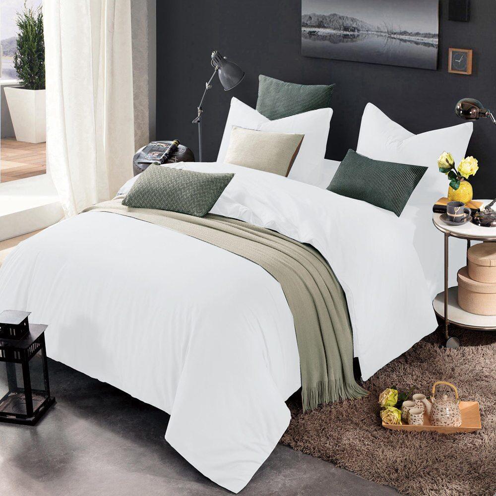 Комплект постельного белья Однотонный Сатин CS008